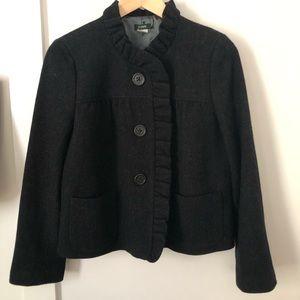 J Crew Luxe Donegal Fiona Wool Coat Sz 10